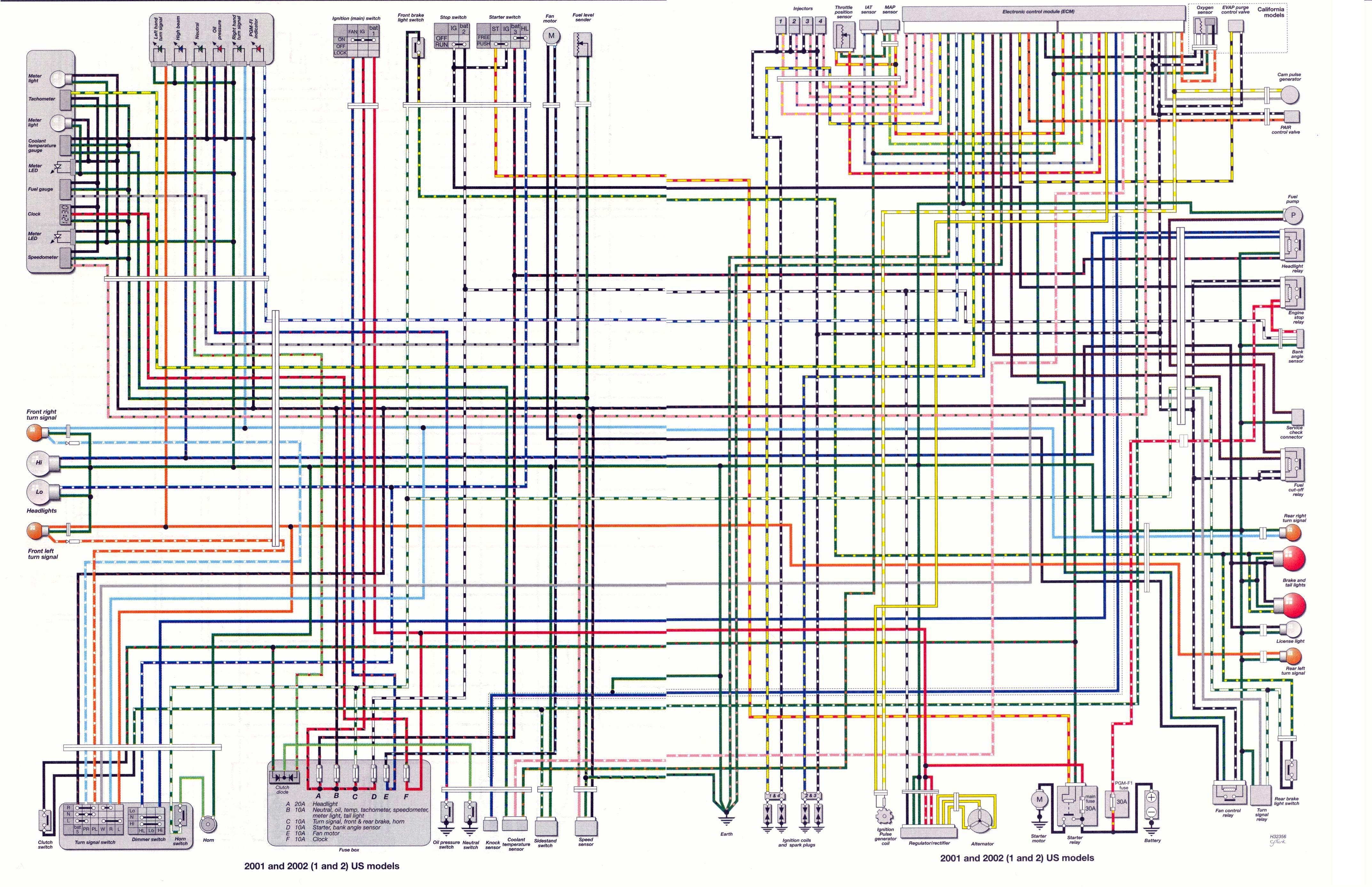 Фото схемы проводки альфы